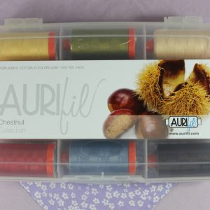 Aurifil Chestnut Collection