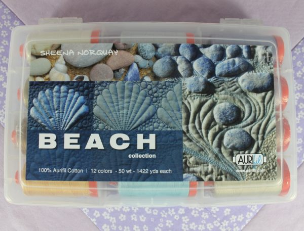 Aurifil Beach Collection von Sheena Norquay