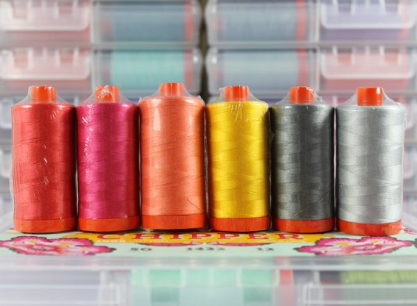 Aurifil Tula Pink Chipper Collection