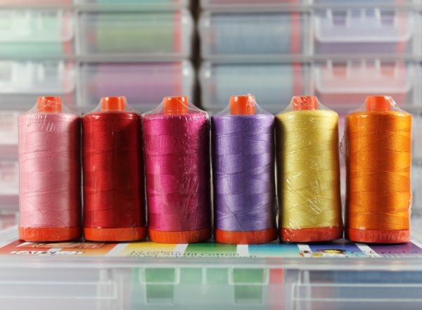 Aurifil Piece and Quilt Collection Colors