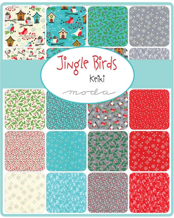 Moda Kollektion Jingle Birds von Keiki