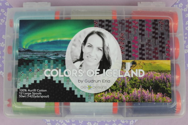 Aurifil Colors of Iceland Collection