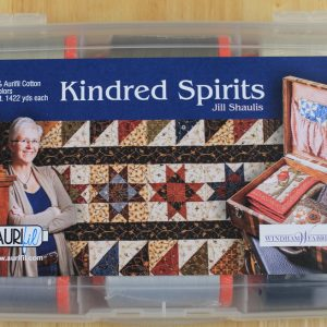 "Aurifil Garn Box ""Kindred Spirits"" enthält 12 1300m Spulen der Feinheit 50 wt."